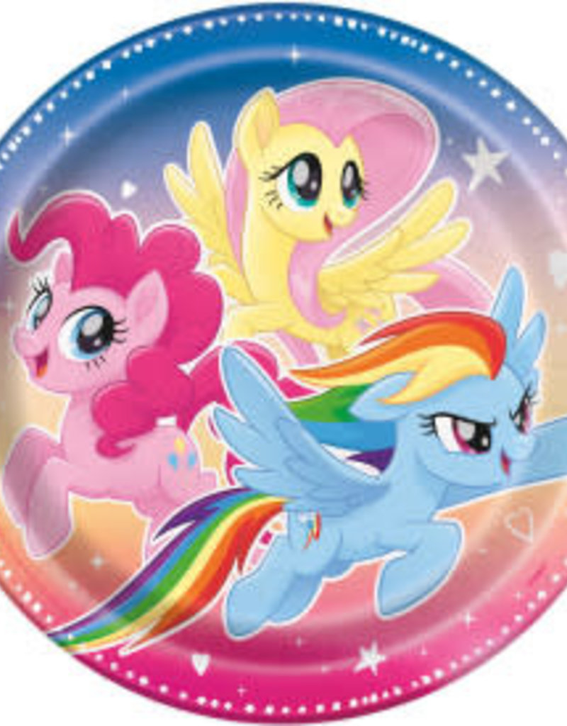"9"" My Little Pony Paper Plates - 8pc"