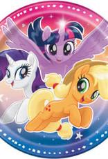 "7"" My Little Pony Paper Plates - 8pc"