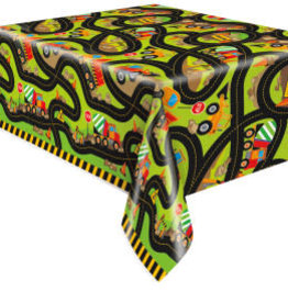 Construction Party Table Cover