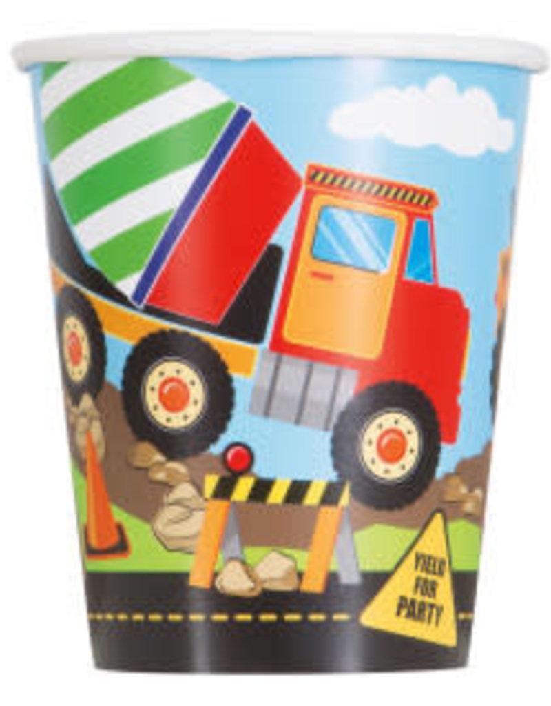 Construction Party Paper Cups-9oz