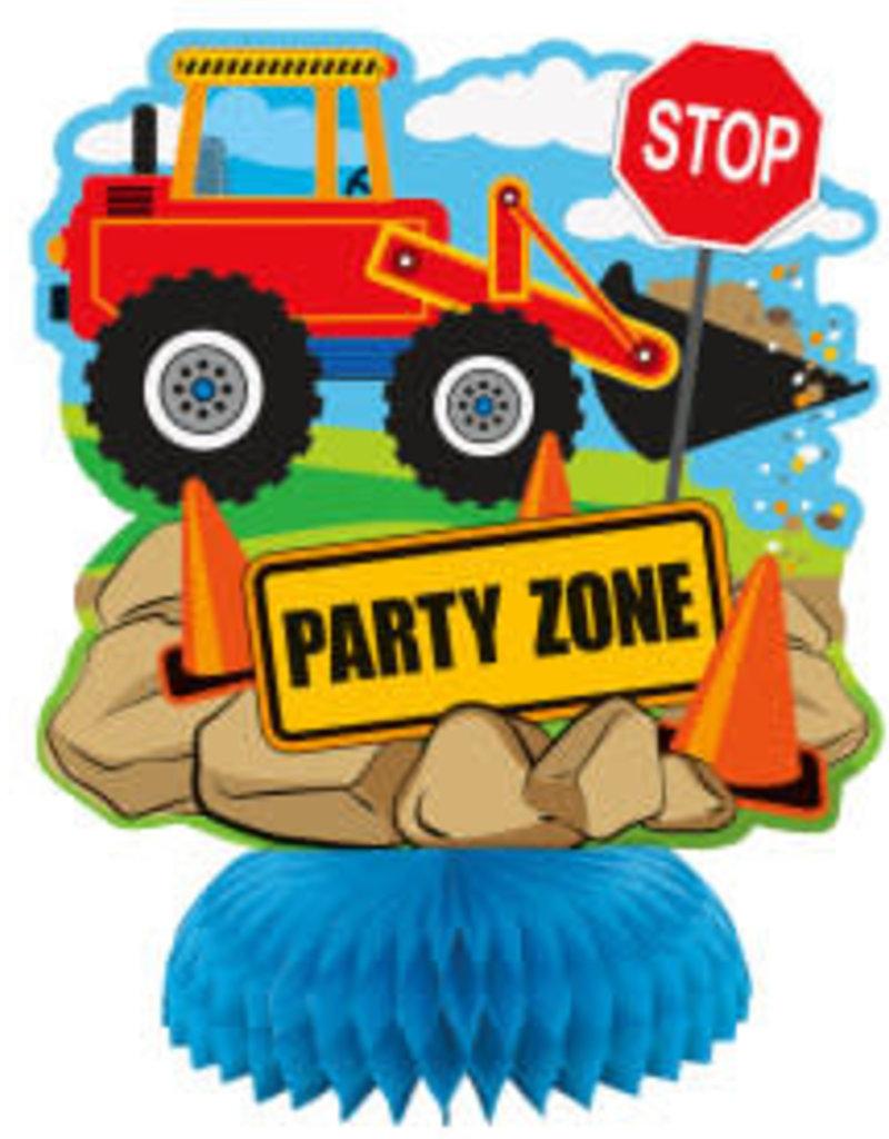 Construction Party Centerpieces