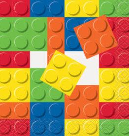 Lego Birthday Beverage Napkins