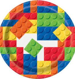 "Lego Birthday Dessert Plates-7"""
