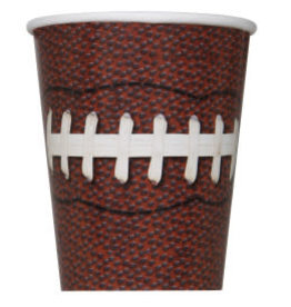 Football Party Paper Cups-9oz