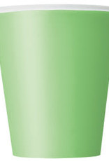 Baby Yoda/Lime Green Paper Cups-9oz