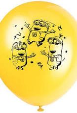 "11"" Minion Latex Balloons - 8ct"
