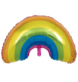 Rainbow Giant Shaped Foil Balloon-36""