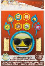 Emoji 1 Cake Décor Kit 17 pcs.