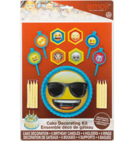 Emoji 1 Cake Décor Kit 17 pcs.