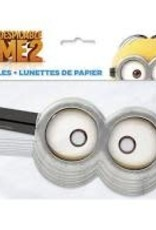 Minion Party Masks - 8ct