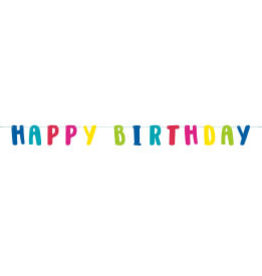 Llama Happy B-Day Letter Banner