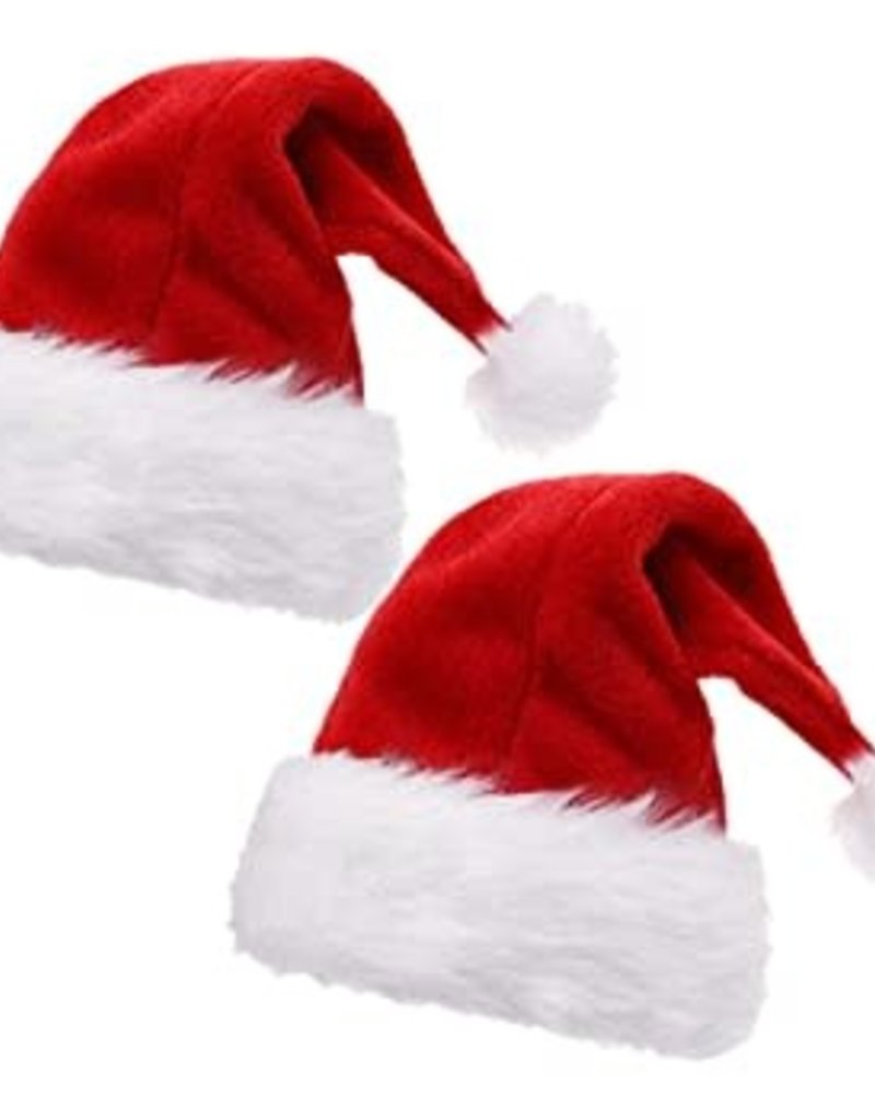 ADJUSTABLE TODDLERS SANTA HAT