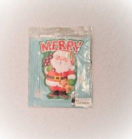 MERRY FRINGE CHRISTMAS BANNER