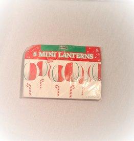 6 MINI LANTERNS CHRISTMAS