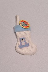 "5"" BLUE BABY MINI STOCKING"
