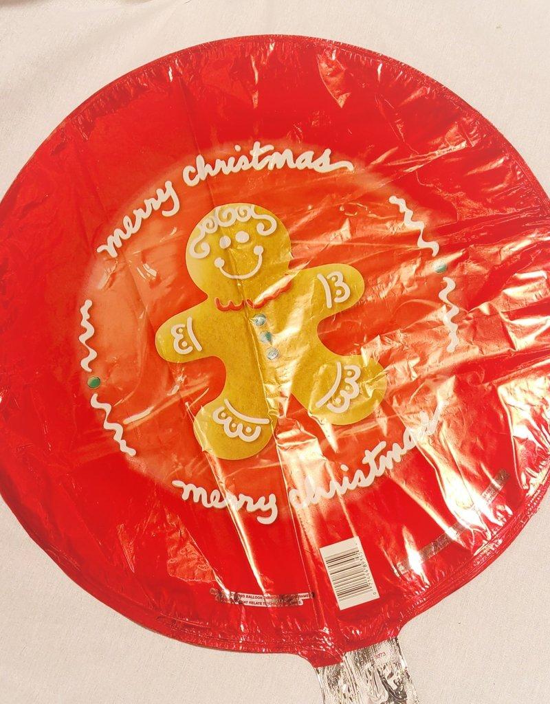 "20"" MERRY CHRISTMAS GINGERBREAD MAN"