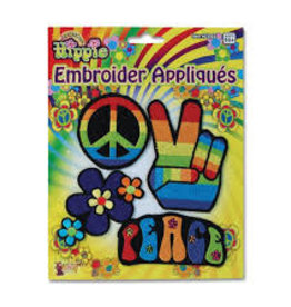 Hippie Embroidered Patches