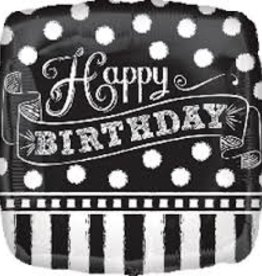 """Black and White B-Day 18"""""""
