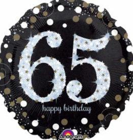 "Sparkling 65th B-Day 18"""
