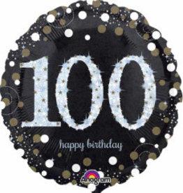 "Sparkling 100th B-Day 18"""