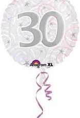 """Qualatex 18"""" 30th Anniversary (FLAT)"""