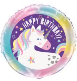 """Unicorn Foil Balloon 18"""""""