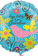 "Qualatex Happy B-Day to You Grandma 18"""