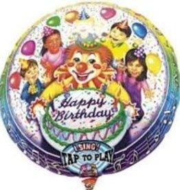 Singing Happy B-Day Clown