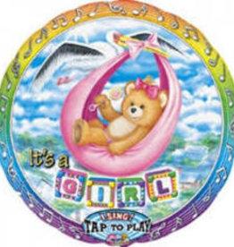 """It's a Girl"" Singing Balloon"
