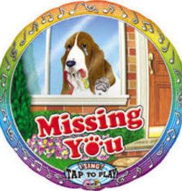 """""""Missing You"""" Singing Balloon"""