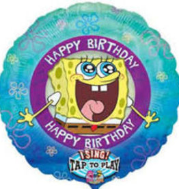 Singing Happy B-Day SpongeBob