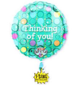 """Thinking of You"" Singing Balloon"