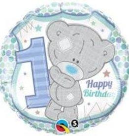 "Happy 1st B-Day Blue 18"""