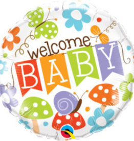 """Gender Neutral Welcome Baby 18"""""""