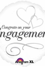 """Qualatex Congrats on Your Engagement 18"""""""
