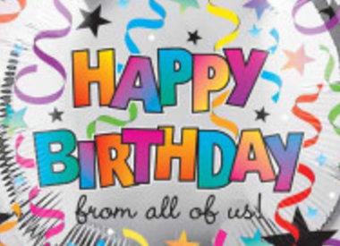 "18"" Foil Happy Birthday"