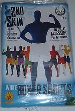 2nd Skin Boxer Shorts - White