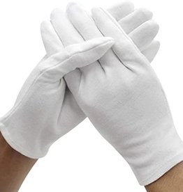 Fun World Plus Size White Gloves