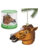 CREEPY HORSE HEAD ORNAMENT
