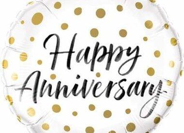 "18"" Foil Anniversary & Wedding"