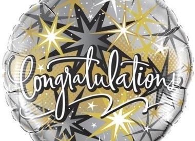 """18"""" Foil Congratulations"""