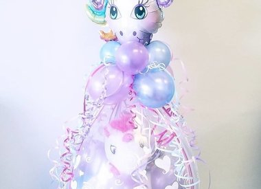 Premade Balloon Bouquets and Gifts
