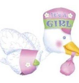 Its a Girl Stork Super Shape