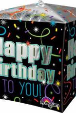 Confetti Happy B-Day Cubez