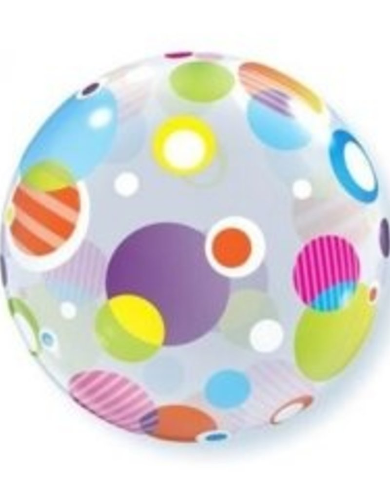 Colourful Dots Bubble