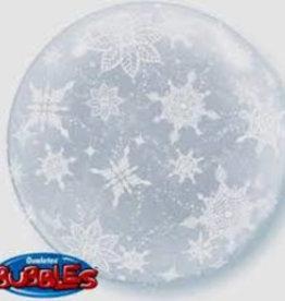 Patterned Bubbles Snowflakes