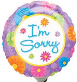 "I'm Sorry 18"""