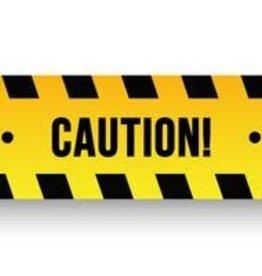 "3"" x 20' Caution tape"