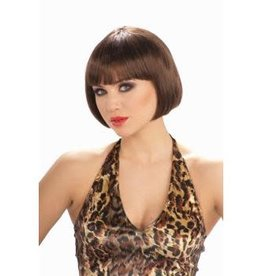 Forum Novelties Chic Bob Wig - Brown