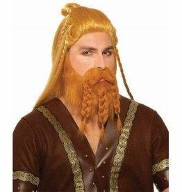 Forum Novelties Deluxe Viking Wig and Beard Set